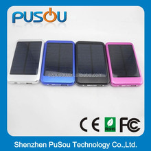 10000mah solar energy powerbank pack portable external charger with CE,RoHS FCC from sedex factory
