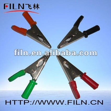 75mm battery copper test clip crocodile clip
