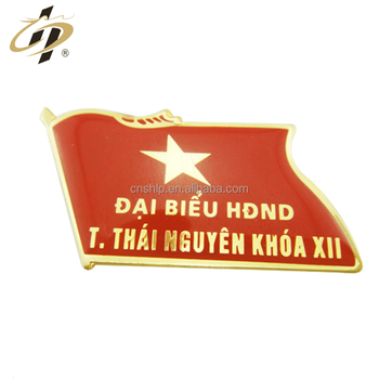 Bulk items custom gold metal enamel resin flag lapel pins
