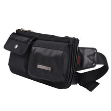 Wholesale Sport Men Leather Waterproof Waist Bag Belt Bag For Men