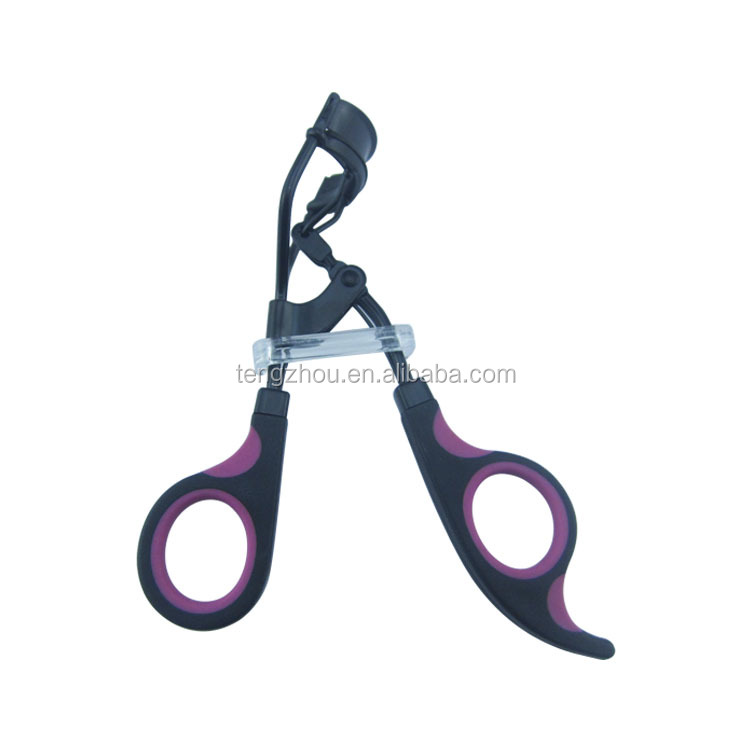 Wholesale Good Quality Plastic and Colourful handle Eyelash Curler