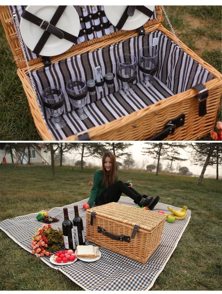 Picnic Basket Empty : Cheap empty picnic baskets basket set for sale