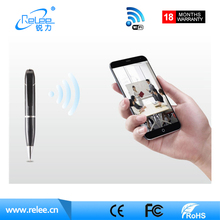 2017 New HD 720P Remote control Smart Wifi Video Pen Camcorder Business Cloud IP Pen Camera