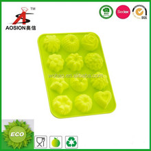 hot sale silicone rose cookies mould