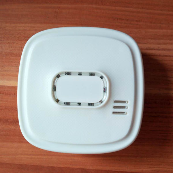 sound and flash alarm zigbee gas alarm detector for smart home system