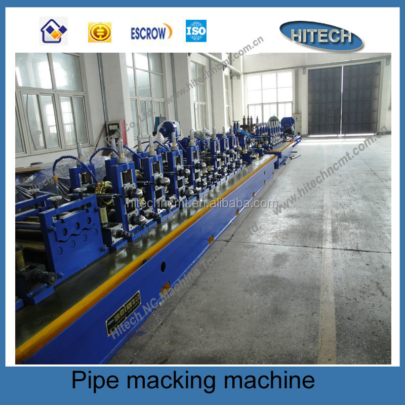 Solid state Stainless steel pipe welding machine,stainless steel tube making machine