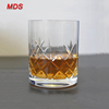 Best quality hand cut glass whisky tumblers for sales