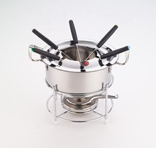 Hot sale stainless steel milk pot stainless steel milk butter warmer