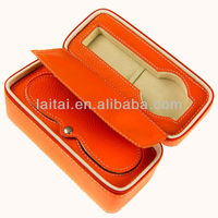 High Quality Top Leather Orange Watch