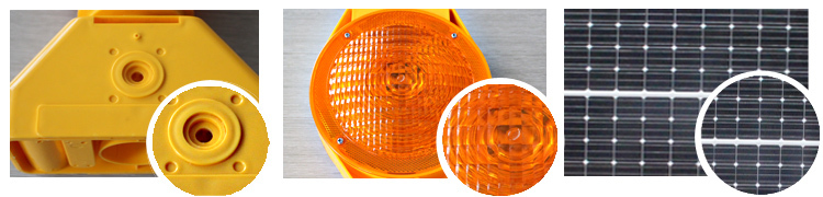 new design product Solar warning barricade light