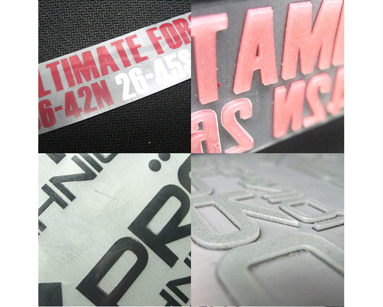 fashion sportswear,underwear,swimwear, clothing tagless night reflective heat transfer label