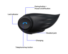 2 riders 800m wireless bluetooth Interphone For Motocyclist BT Interphone Motorcycle Bluetooth