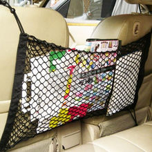Universal PP Car And SUV Back Seat Storage Luggage Organiser Cargo Net