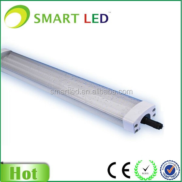 IP65 60cm LED Tri-proof light fitting replacement twin 18W fluorescent light