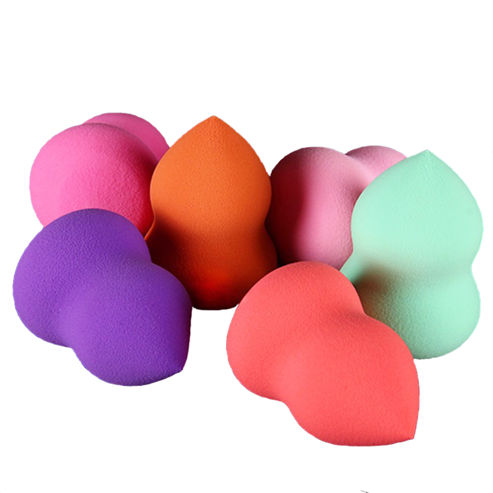A10503 Top Quality Gourd shape Latex Free Cosmetic Powder Puff Beauty Makeup Sponge