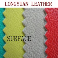 embossed surface pu leather