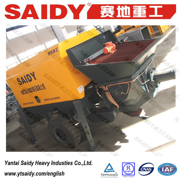 putzmeister concrete pump SAIDY brand concrete mixer with pump