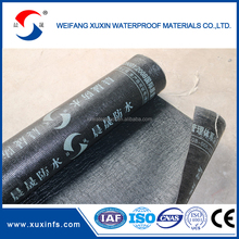 Torch on roof bitumen waterproof sheet materials with PE membrane