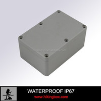 125*80*58mm industrial and electrical die casting aluminium waterproof boxes aluminum die casting waterproof junction box
