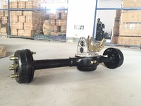 Wear Resisting 1500w Semi Suspended Rear Axle 9th Generation for Electric Tricycle Motorcycle QiaoGuan OEM