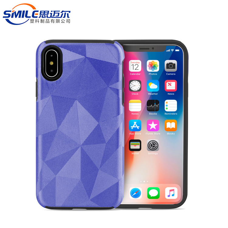 Comfortable feeling for iphone 10 purple case mobile phone,for iphone x case