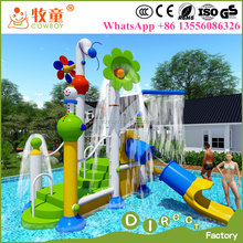 Swimming Pool Kids Water slide Equipment / Water Play Games for Toddlers