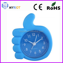 Bedroom Table Clock Plastic Decorative Desk Clock Alarm Clock