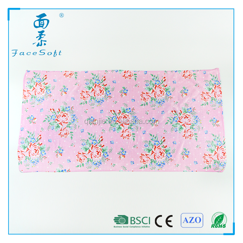 Microfiber Knitted Cleaning Kitchen tea towel fabric