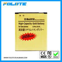 Better than Original Gold Battery For Samsung For Galaxy S3 Mini I8190