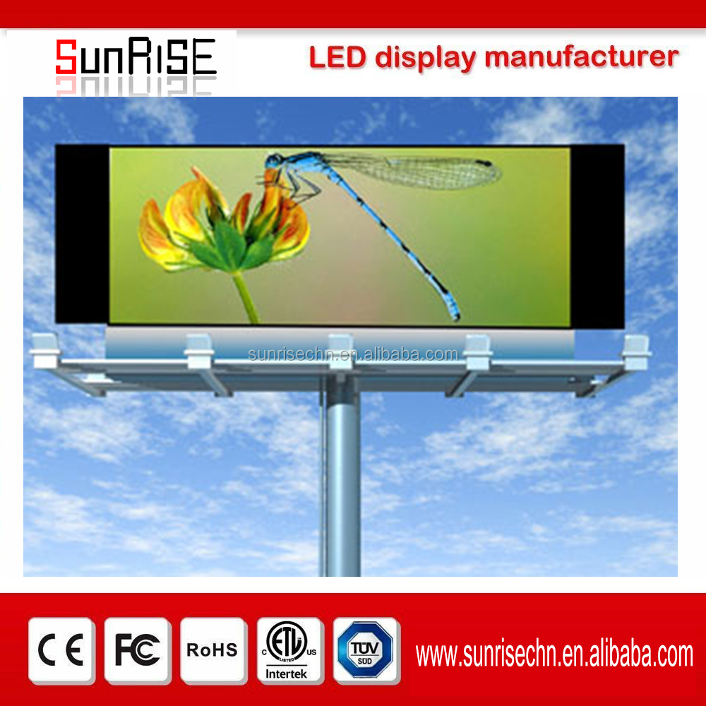 Newly designed Video Wall Flexible China Outdoor led panel/ outdoor led billboard P6 P8 P10 advertising led display