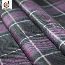 Hot sell madras gingham cotton check shirt fabric school uniform