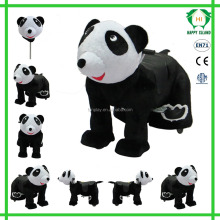 HI CE plush animal electric scooter happy ride toy animal ride hot in shopping mall