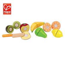 Children's educational cut fruit and vegetables toy