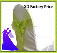 Wedding chair sash organza cheap for sale from China