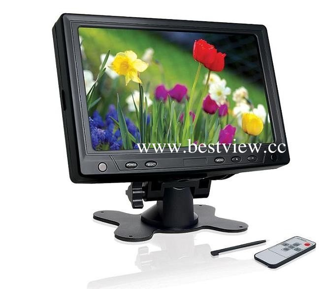 7'' lcd touch screen monitor active matrix TFT monitor