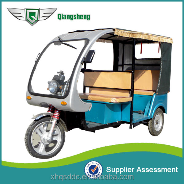 double seat passenger electric three wheeler tricycle for bangladesh