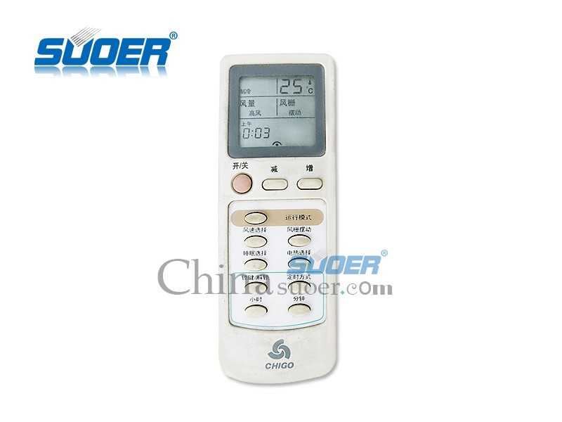 Suoer High Quality A/C Remote Control IR Remote Control Universal Air Conditioner Remote Control for Chigo
