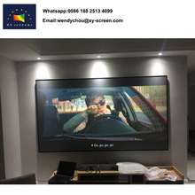 Zero edge ALR Black Diamond fixed frame projector screen