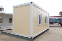 Solid Movable Aluminum Panel sandwich panel container house constructer