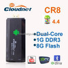 2015 Cloudnetgo Hot selling Android mini pc CR8 Rk3066 Dual Core A9 1.6Ghz/TV stick HDMI RJ45 Port WIFI Display (Mirroring )f