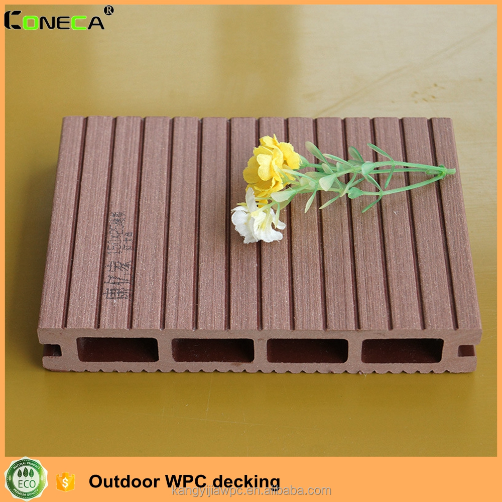 Wood and plastic composite decking durable artificial wood outdoor wpc decking