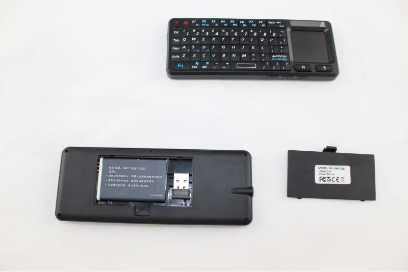 2.4G wireless silent silicone keyboard with Touchpad