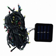outdoor decoration Solar christmas string light waterproof LED string lights