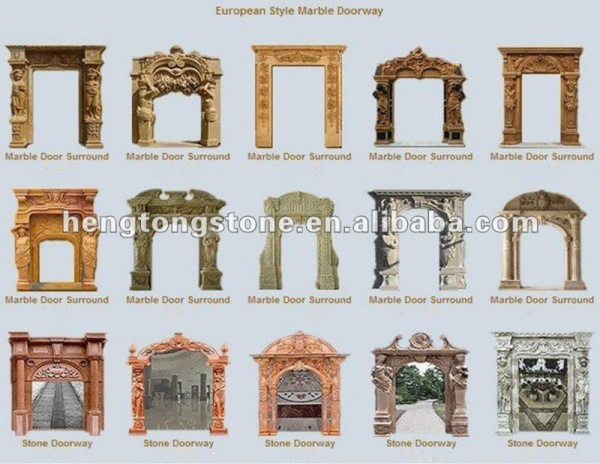 Chinese Home Decoration Granite Door Frame, View decoration Door ...