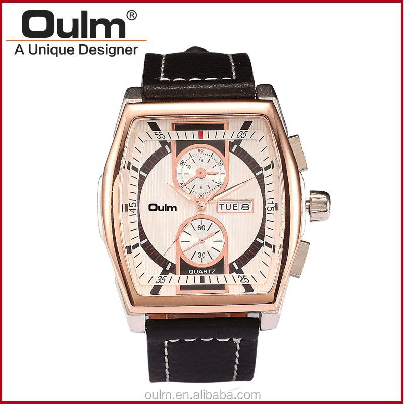 Oulm fashional design watches, wrist watch for couples, vogue quartz watch