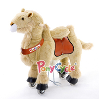 PonyCycle moving toy horse suffed animal for 2015 hot sale