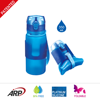 350ml/12oz Platinum Silicone Foldable Water Bottle