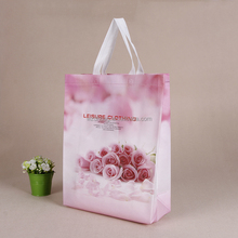 Customized low price lamination grocery non woven tote bag for shopping,gift bag