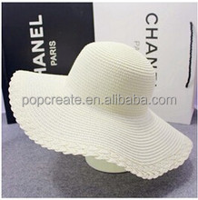 graceful and simple hot sale straw hat wholesale