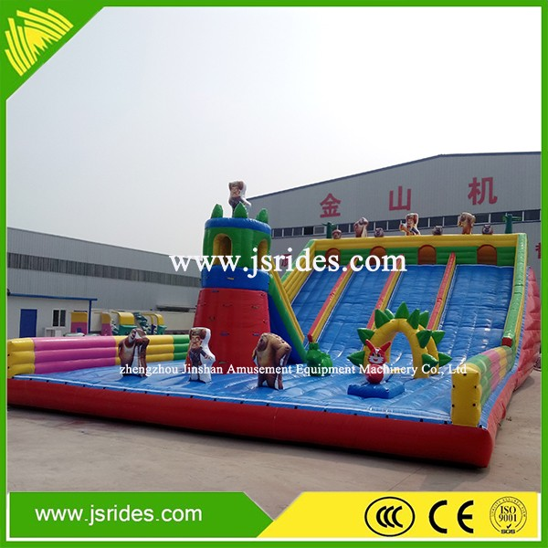 play zone equipment giant inflatable palygrounds giant inflatable jumping bouncy castle with slide and climbing structures